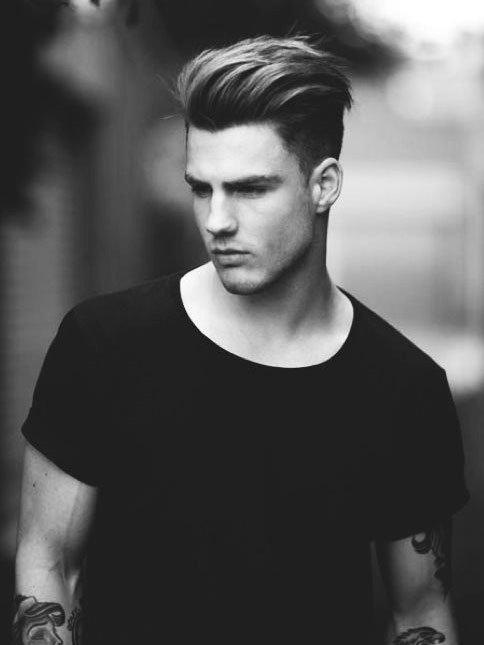 Прическа мужская волосы