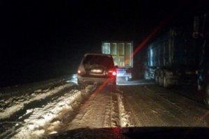 Заторы на трассах в Одесской области