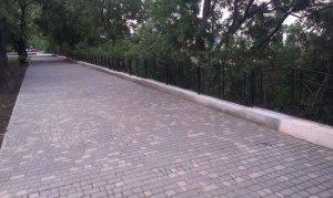 Восстановление Суворовской аллеи в парке Шевченко