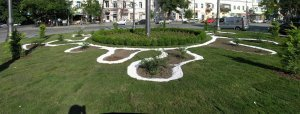 Благоустроенная Тираспольская площадь