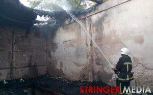 Пожар в здании одесского санатория