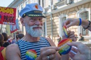 Участник гей-парада