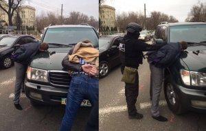 Арест взяточников
