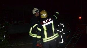 Масштабный пожар в Киевском районе