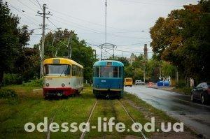 Юбилей одесского трамвая в Люстдорфе