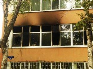 Пожар в одесской школе
