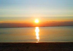 Изумительный рассвет над Одессой