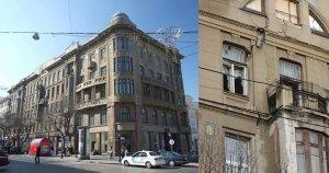 Дом Новикова и трещины на нем до ремонта