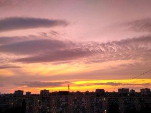 Великолепное небо над Одессой