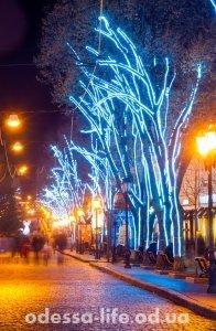 новогодняя Дерибасовская