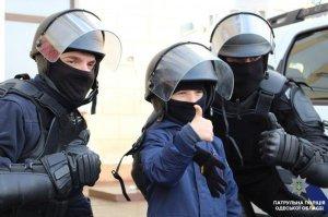 Дети на Рождественском патрулировании