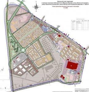 Проект нового микрорайона в Одессе