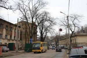 Ремонт на ул. Приморской