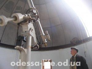 Раритетный действующий телескоп
