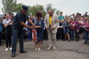 Максим Степанов проверил, соблюдают ли пожарную безопасность в школе