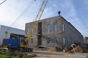 Строительство спортивного комплекса в Измаиле