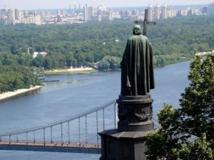 Памятник Владимиру-Крестителю в Киеве
