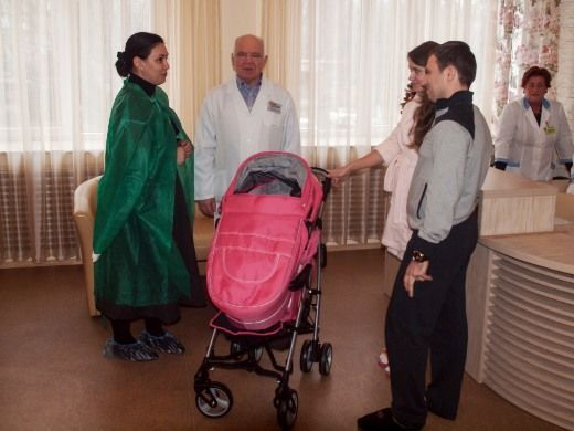 Поздравление новорожденных от мэра