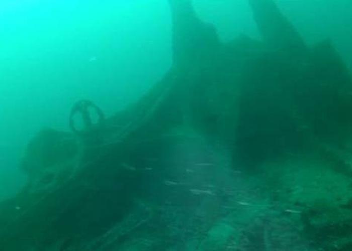 подводная гондола затонувшая получи и распишись глубине 72 метра