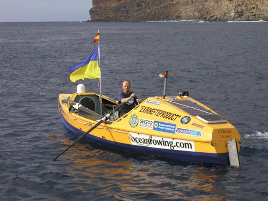 на парусной лодке через океан