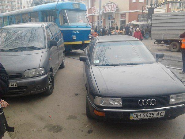 Одесские водители потеряли страх