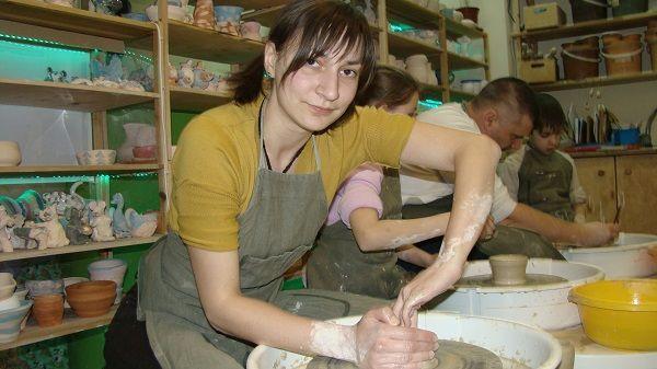 Марина Головина мечтает обучать деток гончарному делу