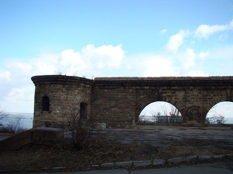 Крепость в парке Шевченко