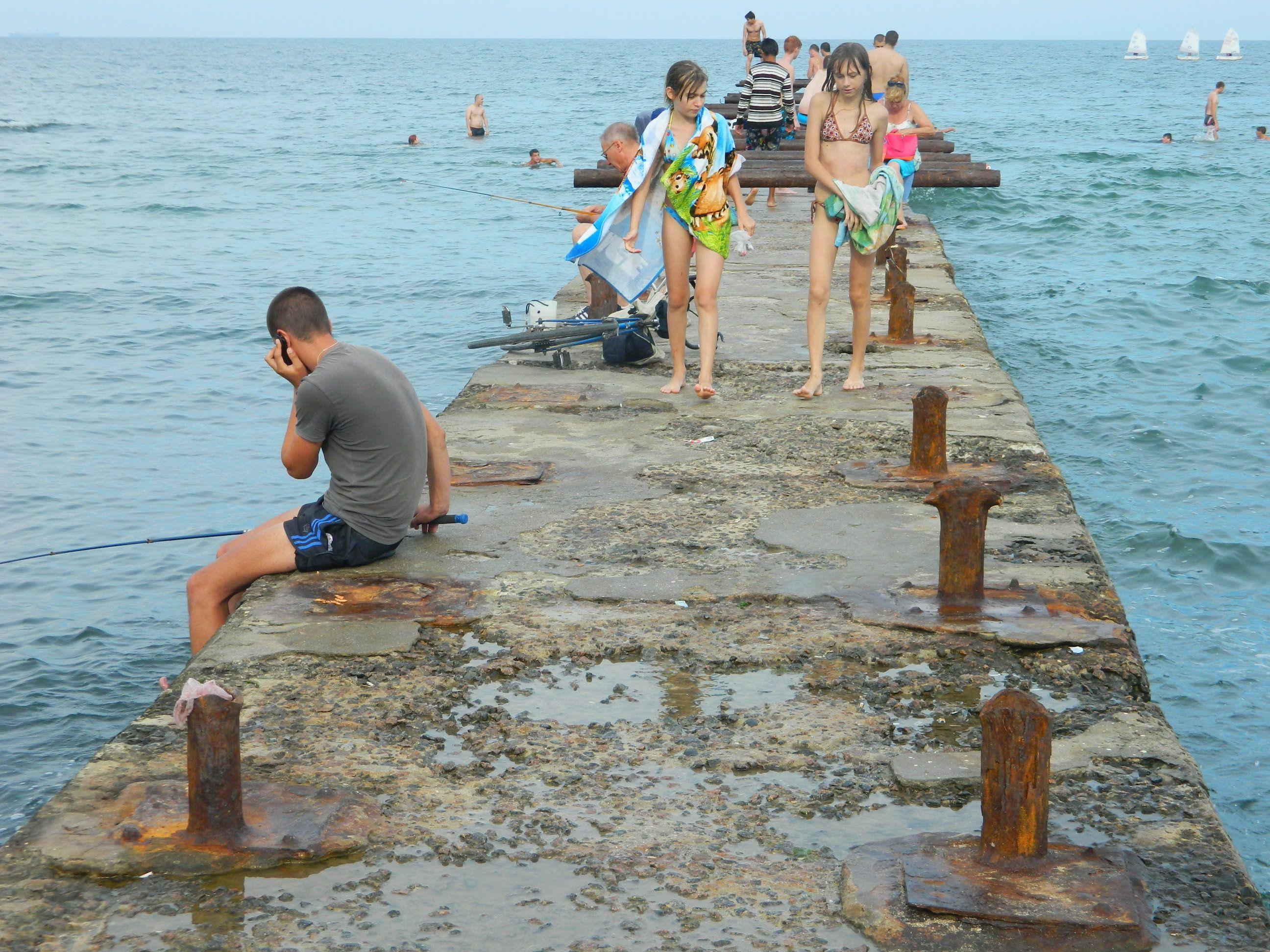 Нудисты пляж одесса фото видео  WikiBitme