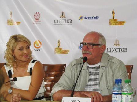Михалков в Одессе