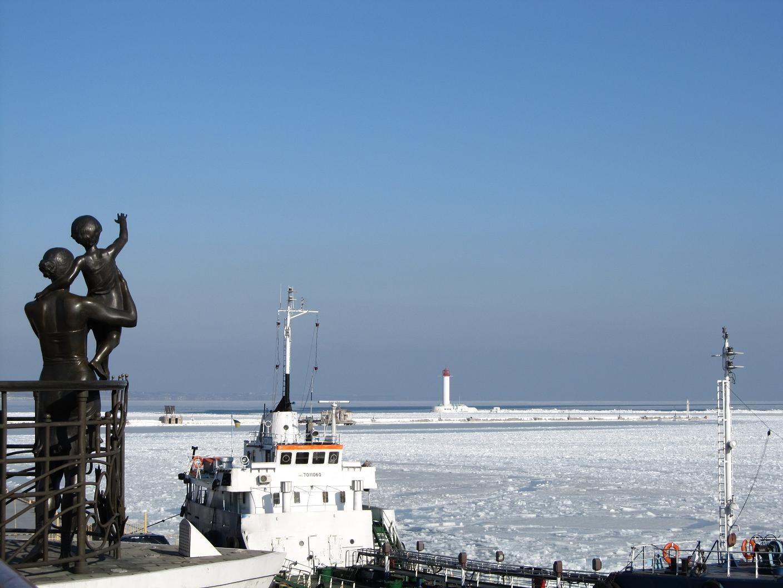 """Результат пошуку зображень за запитом """"зимой одесса порт"""""""