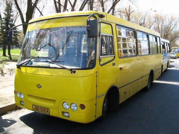 Одесская маршрутка № 215