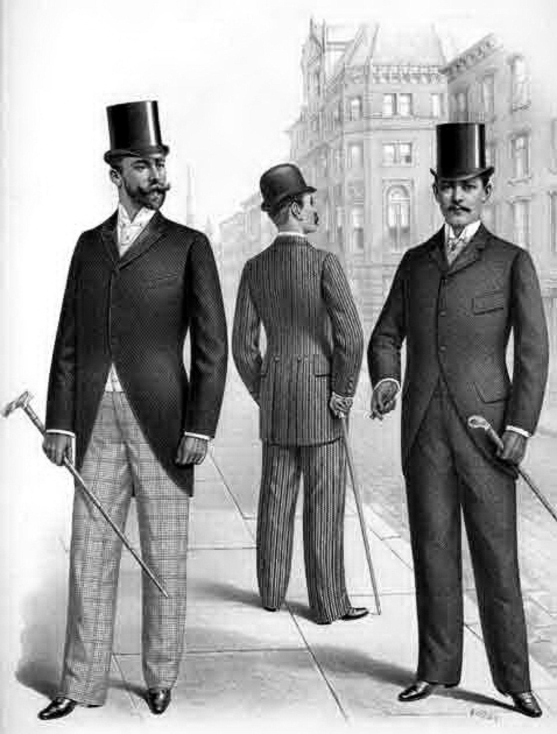 Мужская Мода 19 Века В России