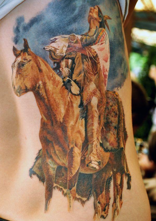 Не татуировка, а произведение искусства