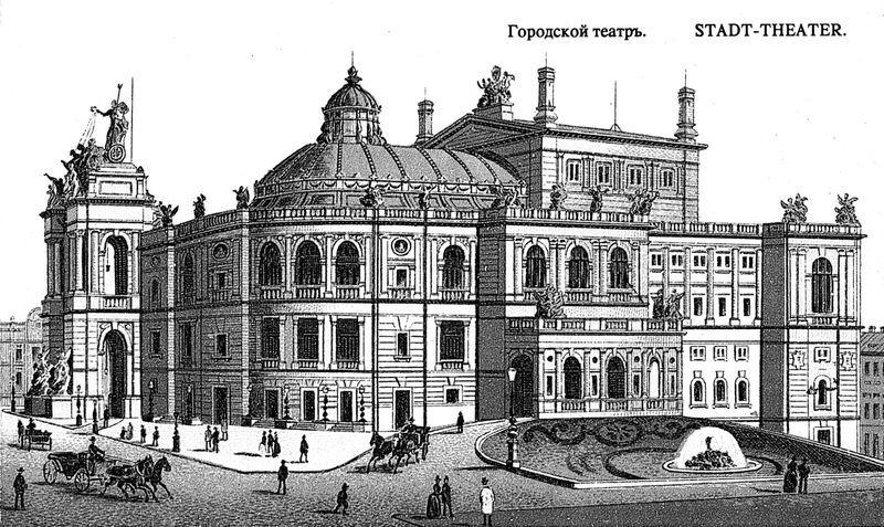 Одесский театр — это что-то с чем-то