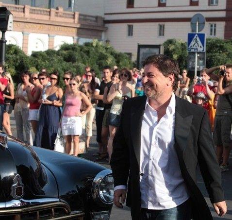 Александр Цекало на открытии первого фестиваля «Большая разница» в Одессе (2010 г.)