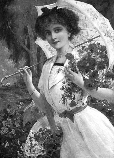 Одесситки и их зонты
