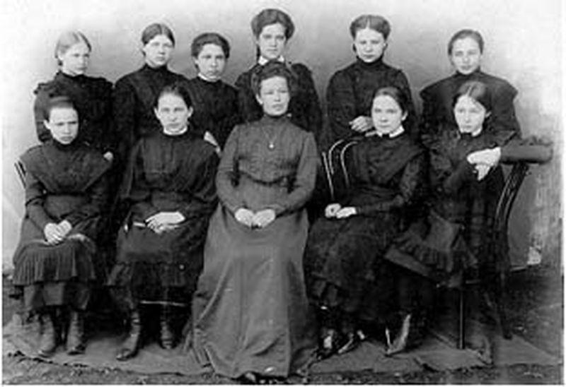 школьная форма 19 век