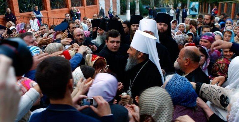 Что делает митрополит Онуфрий в Одессе (ФОТО)