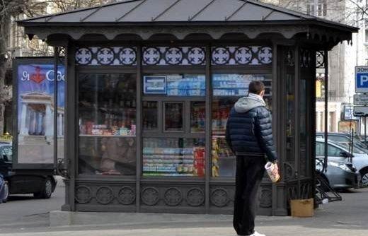 МАФиозная революция: Смогут ли типовые киоски вписаться в городской пейзаж Одессы?