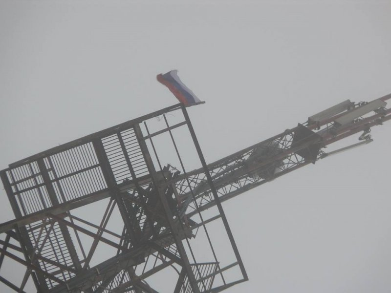 В Одесской области вывесили российский флаг (ФОТО; ОБНОВЛЕНО)