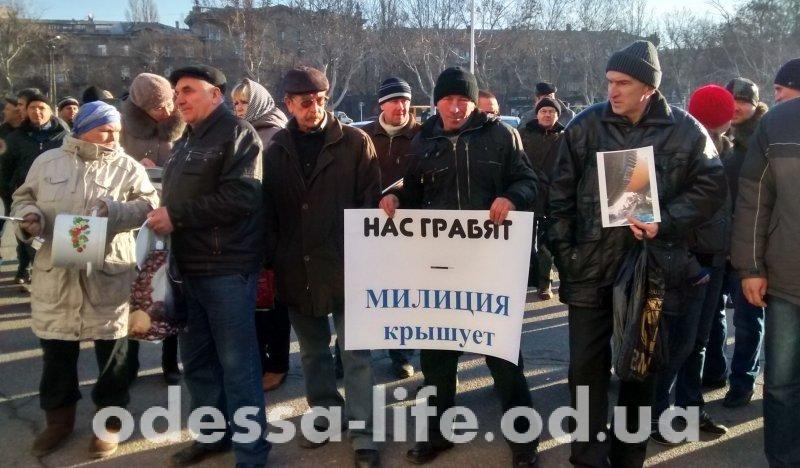 Повторный рейдерский захват керамзитового завода: работники пикетируют ОГА (ФОТО)