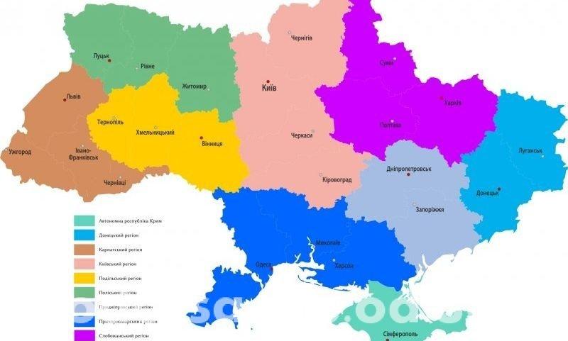 Одесскую, Херсонскую и Николаевскую область объединят