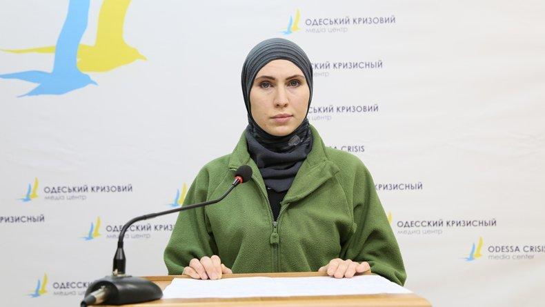 Российские СМИ ведут атаку на одесситку Амину Окуеву