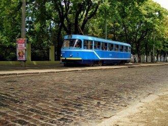 Трамвай №5 уже ходит по Французскому бульвару – пока без пассажиров