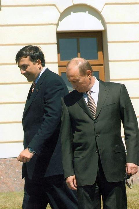 Саакашвили прокомментировал заявление Путина