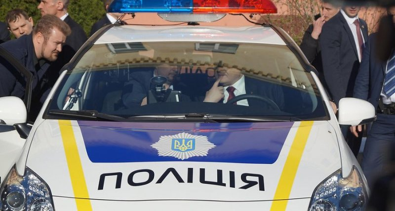В Одессу едет президент представить новую патрульную полицию