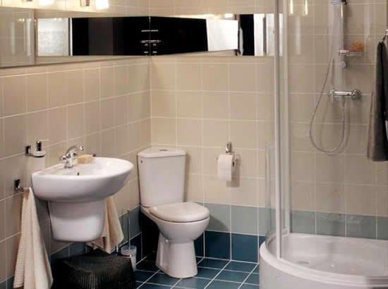 Маленькая ванная. Борьба за площадь