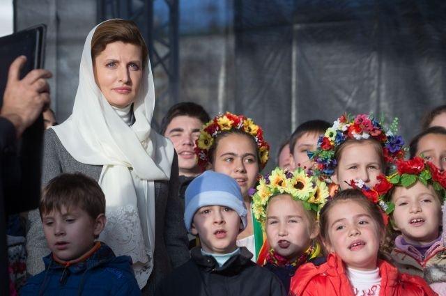 В Одессу может приехать Марина Порошенко