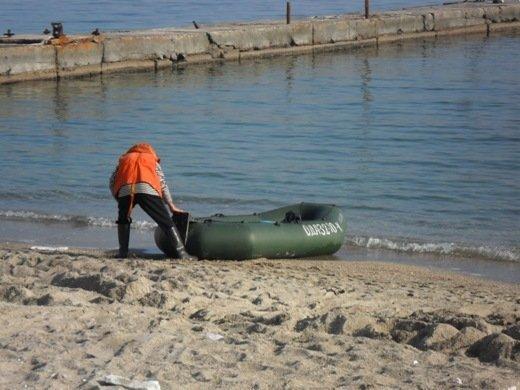 На одесском побережье спасли пьяных горе-рыбаков
