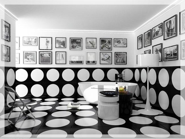 Отделка керамической плиткой. Идеи необычного оформления